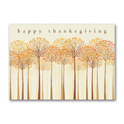 Thankful Trees - Thanksgiving Card